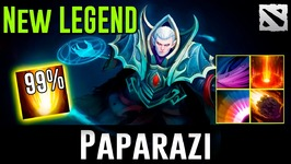 Paparazi Invoker NEW LEGEND Dota 2