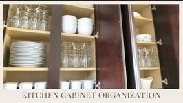Home Organization Tips  Kitchen Cabinet Organization