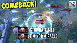 Miracle Invoker COMEBACK Dota 2