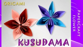 How to make origami kusudama flower diy easy to fold an origami how to make origami kusudama flow mightylinksfo