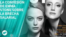 La confesión de Emma Stone sobre la brecha salarial