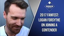 Dodgers 2017 FanFest: Logan Forsythe On Joining A Contender