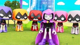 Teen Titans Go - Colors Of Raven - Parody -