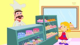 Pat A Cake - Kindergarten Nursery Rhymes For Toddlers - Cartoon Videos For Children