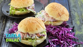 Creamy Salad Burger - Hindi