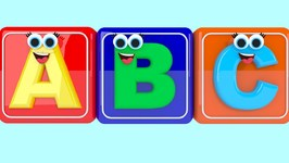 ABC Song - Alphabet Song - A to Z for Children - Nursery Rhymes For Kids