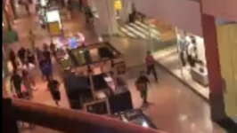 People Scream and Run After Reports of Gunshots in Miami Mall