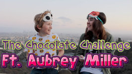 Aubrey Miller And I Do The Chocolate Challenge