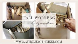 Fall 2015 Workbag Organization