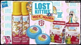 Lost Kitties Series 3 Mice Mania by Hasbro