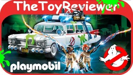 Playmobil Ghostbusters Ecto-1 9220 Action Vehicle Slime Legos Unboxing