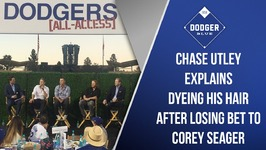Dodgers All-Access: Chase Utley Explains Dyeing His Hair After Losing Bet To Corey Seager