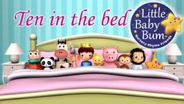 Ten In The Bed - Nursery Rhymes for Babies