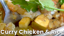 Curry Chicken And Rice - 1 Pot Dish