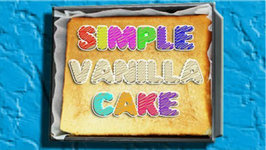 Simple Vanilla Cake  Recipe (How To)
