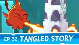 Om Nom Stories- A Tangled Story -Episode 32 Cut the Rope- Magic