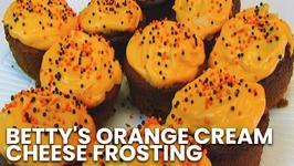 Betty's Orange Cream Cheese Frosting- Halloween