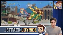 Touchables - Jetpack Joyride Gameplay