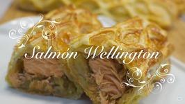 Salmon Al Horno En Hojaldre / Salmon Wellington / Recetas De Salmon Al Horno Con Patatas