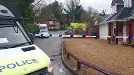 Police and Military Swarm Winterslow, Wiltshire Village as Part of Russian Spy Poisoning Investigation