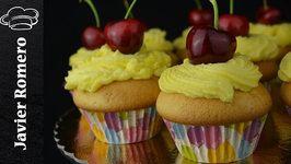 Cupcakes con buttercream de queso