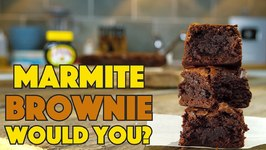 Marmite / Vegemite Brownie Recipe - Would You Eat It