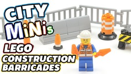 How To Build Lego City Barricades - Lego City Minis Ep 2