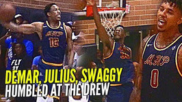 Demar Derozan, Nick Young And Julius Randle Humbled By Random Drew League Players Still Get The W Tho