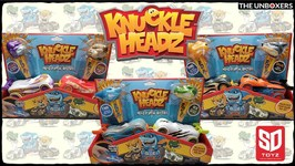 Knuckle Headz Head Poppin' Racers