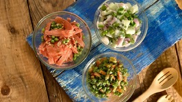 Summer Salads 3 Ways / Healthy Salad