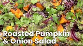 Roasted Pumpkin And Onion Salad