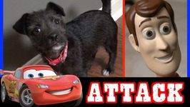 Toy Story 4 Vs Car 3 Lightning McQueen - Woody Buzz Lightyear And Puppy Disney Pixar
