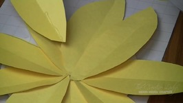 DIY - Jumbo Paper Sunflowers - LetsCreate