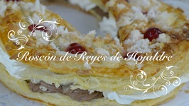 Roscon De Reyes De Hojaldre / Roscon De Hojaldre / Roscon De Reyes Relleno De Nata Y Trufa