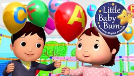 ABC Song - Little Baby Bum - Balloons - Nursery Rhymes for Babies - Songs for Kids