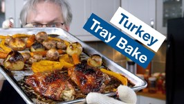 Glen's Easiest Turkey Dinner - Tray Bake Turkey