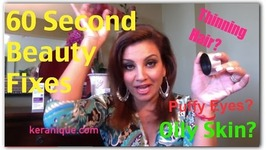 60 Second Beauty Fixes and Makeup Finds