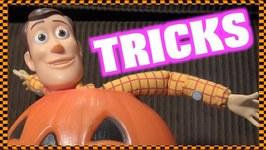 Toy Story 4 Halloween - More Tricks Less Treats - Woody Buzz Lightyear