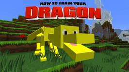 Minecraft - HOW TO TRAIN YOUR DRAGON - Lucky Dragon Attack! 45