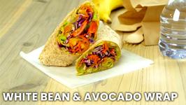 White Bean And Avocado Wrap