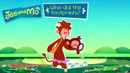 Who Did The Footprints? - Tee & Mo Story Time - Episode 29