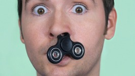 Fidget Spinner Stuck In Nose