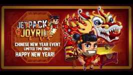 Chinese New Year comes to Jetpack Joyride