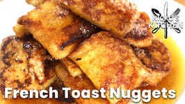 French Toast Nuggets - Best Ever Ice Cream Topping
