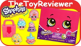 Shopkins Lost Edition NEW 2017 Mysetry Box 24 Exclusive Rare Unboxing Toy Review