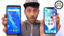 Oneplus 5T vs iPhone X
