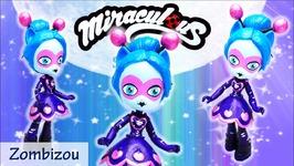 Miraculous Ladybug Season 2 Zombizou MLP Custom Doll Tutorial