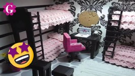 How to Make Doll Bunk Beds for Monster High Dolls Doll Crafts