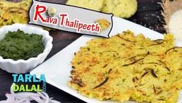 Rava Thalipeeth