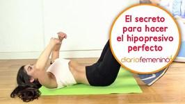 El secreto para hacer un hipopresivo perfecto - Respiración y posturas para hipopresivos